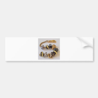 S-chain by MelinaWorld Jewellery Bumper Sticker