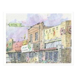 S. Congreso en la calle de Milton, Austin, Tejas Postales