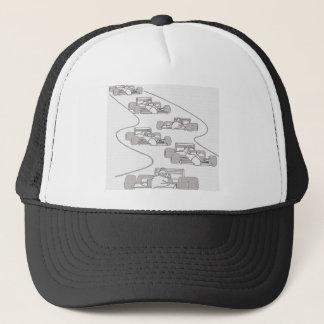 S CURVE TRUCKER HAT
