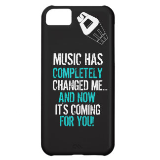 S DEE iPhone 5 - Music Is iPhone 5C Covers