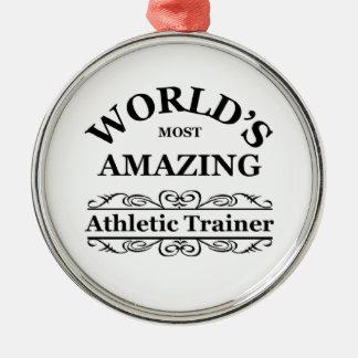 ` S del mundo la mayoría del instructor atlético a Adornos De Navidad