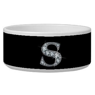 """S """"Diamond Bling"""" Pet Bowl"""