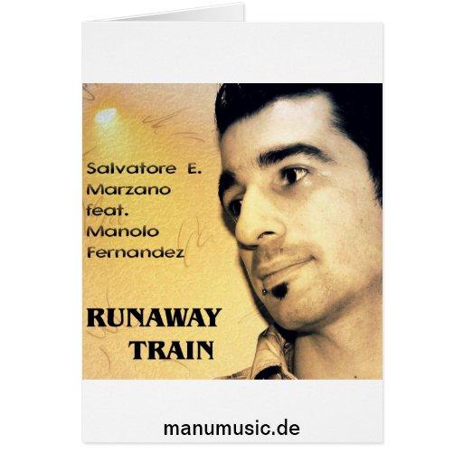 S.E Marzano feat. M. Fernandez - Runaway Train Card