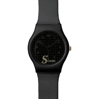 S - El alfabeto de Falck (de oro) Reloj