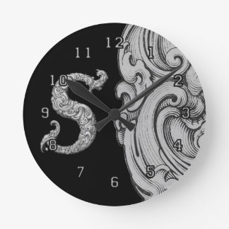 S - El alfabeto de Falck (plateado) Reloj