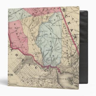 """S el condado de Burlington, NJ Carpeta 1 1/2"""""""