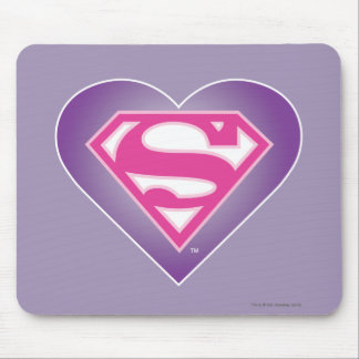 S-Escudo de Purple Heart Alfombrilla De Ratón