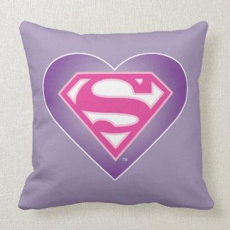 S-Escudo de Purple Heart Almohadas