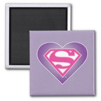 S-Escudo de Purple Heart Iman De Frigorífico