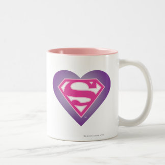 S-Escudo de Purple Heart Taza
