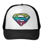 S-Escudo del arco iris Gorra