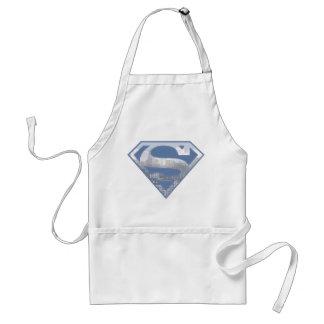 S-Escudo del superhombre Delantales