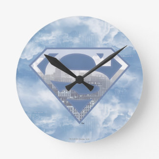 S-Escudo del superhombre Reloj