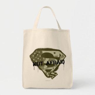 S-Escudo el | del superhombre no asustado - Bolsa Tela Para La Compra