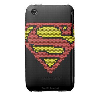S-Escudo Lite-Brite iPhone 3 Cárcasas