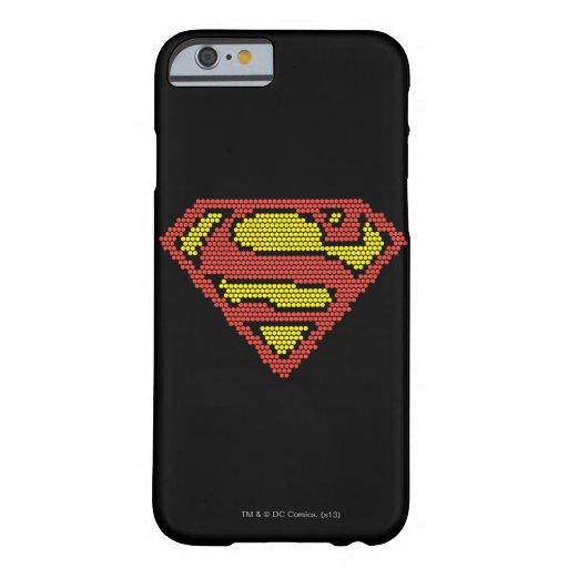 S-Escudo Lite-Brite Funda Para iPhone 6 Barely There