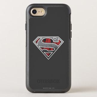 S-Escudo logotipo gris y rojo del | del Funda OtterBox Symmetry Para iPhone 7