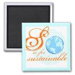 S está para el imán sostenible