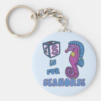 S está para el llavero del Seahorse