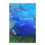 S está para el tiburón - arte para los niños papeleria