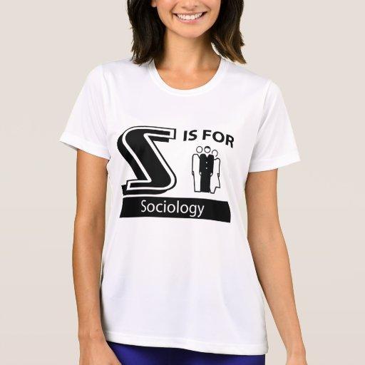 S está para la sociología camisetas