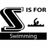 S está para nadar esculturas fotograficas