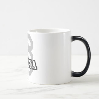 S está para Saniya Tazas De Café