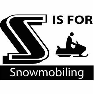 S está para Snowmobiling Esculturas Fotograficas