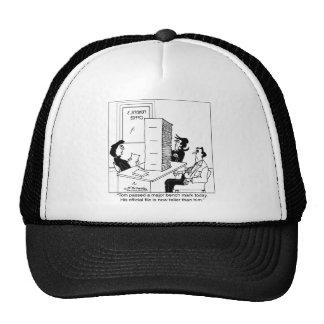 s File Taller Than Him Trucker Hat