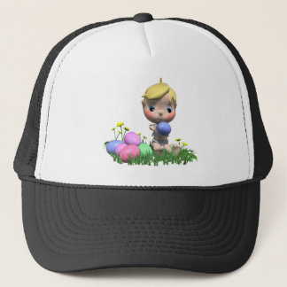 s First Easter Trucker Hat