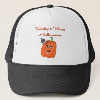 s First Halloween Trucker Hat