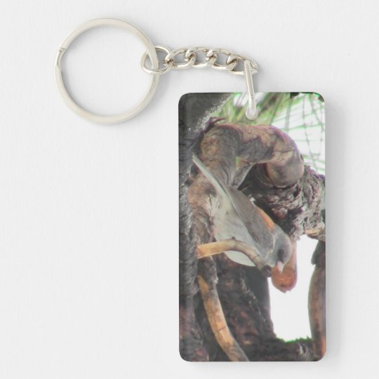 S Flaming Gorge Utah Fauna Birds Aves Animals Keychain