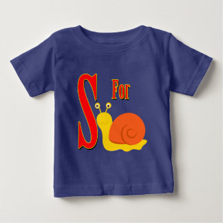 S for Snail Baby T-Shirt