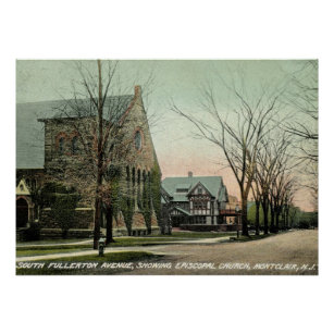 Montclair posters zazzle s fullerton ave montclair nj vintage poster negle Image collections