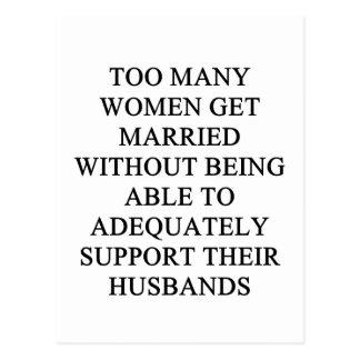 s funny divvorce idea for you postcard