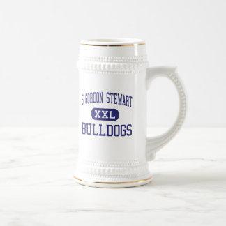 S Gordon Stewart Bulldogs Fort Defiance 18 Oz Beer Stein