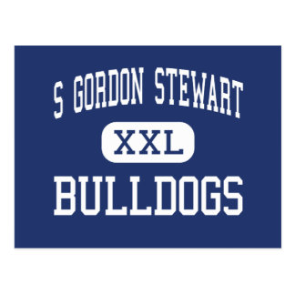 S Gordon Stewart Bulldogs Fort Defiance Postcard
