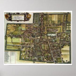 's Gravenhage (La Haya/guarida Haag) - 1652 Posters