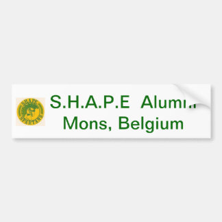 S.H.A.P.E Alumni bumper sticker