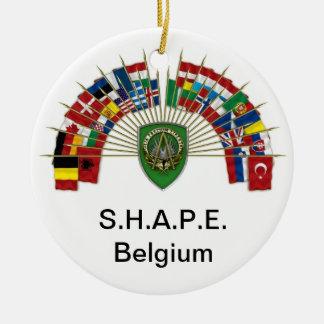 S.H.A.P.E. Ornamento de Bélgica Ornamentos De Reyes Magos