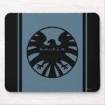 S.H.I.E.L.D. Black Eagle Logo Mouse Pads
