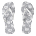 S.H.I.E.L.D. Geometric Pattern Flip Flops
