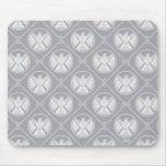 S.H.I.E.L.D. Geometric Pattern Mouse Pad