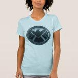 S.H.I.E.L.D. Logotipo del metal Camiseta