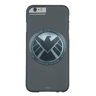 S.H.I.E.L.D. Metal Logo Barely There iPhone 6 Case