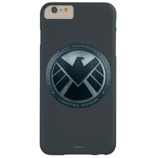 S.H.I.E.L.D. Metal Logo Barely There iPhone 6 Plus Case