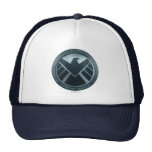 S.H.I.E.L.D. Metal Logo Trucker Hat