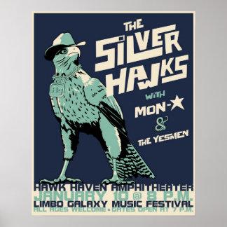S-hawks concert poster