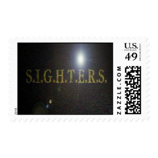 S.I.G.H.T.E.R.S  Paranormal Postage Stamps