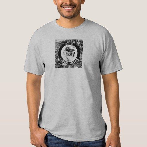 S.I.G - T-shirt Satan I Gatan Playera